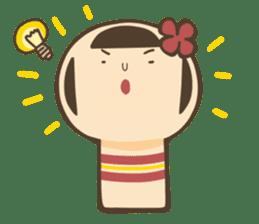 kokeshi sticker #119191