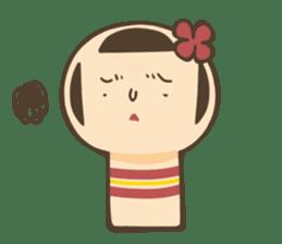 kokeshi sticker #119192