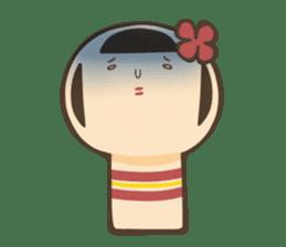 kokeshi sticker #119196