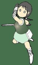 Ninja Girl - Shinorin! sticker #119412