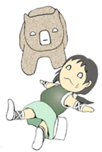 Ninja Girl - Shinorin! sticker #119415