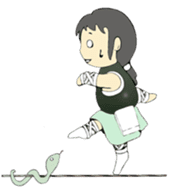 Ninja Girl - Shinorin! sticker #119419
