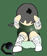 Ninja Girl - Shinorin! sticker #119420