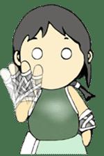 Ninja Girl - Shinorin! sticker #119421