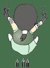 Ninja Girl - Shinorin! sticker #119422