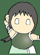 Ninja Girl - Shinorin! sticker #119433