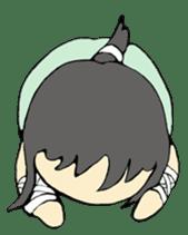 Ninja Girl - Shinorin! sticker #119437