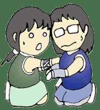 Ninja Girl - Shinorin! sticker #119438