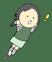 Ninja Girl - Shinorin! sticker #119442