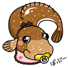 Puns animal picture book sticker #119581