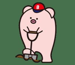 Boo  (Piglet) sticker #119769