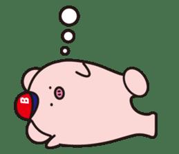 Boo  (Piglet) sticker #119770