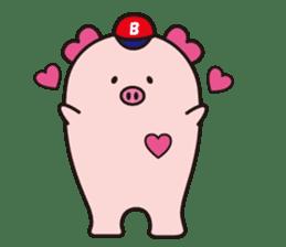 Boo  (Piglet) sticker #119773
