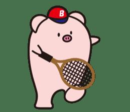 Boo  (Piglet) sticker #119777
