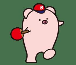 Boo  (Piglet) sticker #119779