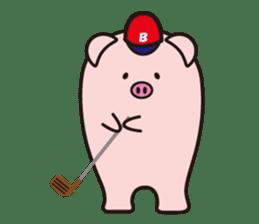 Boo  (Piglet) sticker #119780