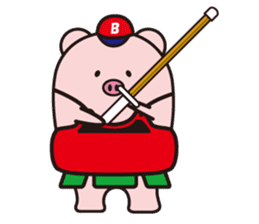 Boo  (Piglet) sticker #119781