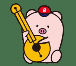 Boo  (Piglet) sticker #119784