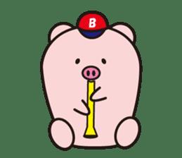 Boo  (Piglet) sticker #119785