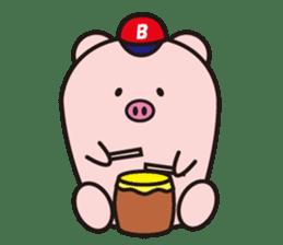 Boo  (Piglet) sticker #119786