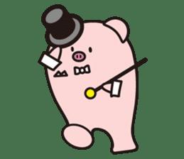Boo  (Piglet) sticker #119787