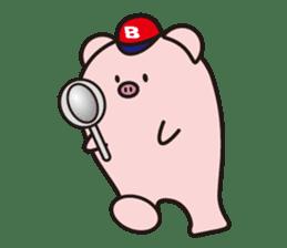 Boo  (Piglet) sticker #119789