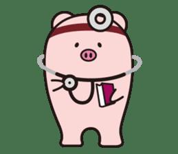 Boo  (Piglet) sticker #119790