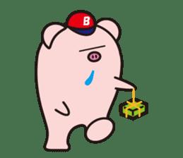 Boo  (Piglet) sticker #119793