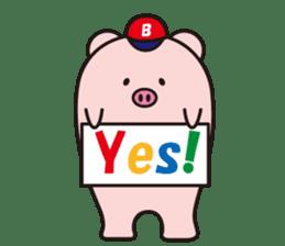 Boo  (Piglet) sticker #119795