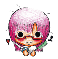 MEGAMORI!KAMICO-CHAN! sticker #119964