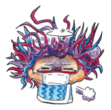 MEGAMORI!KAMICO-CHAN! sticker #119990