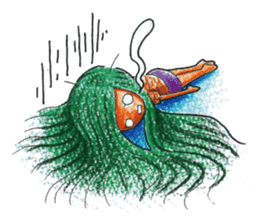 MEGAMORI!KAMICO-CHAN! sticker #120002