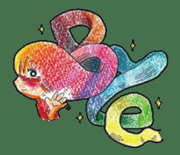 MEGAMORI!KAMICO-CHAN! sticker #120003