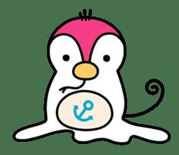 Melt Penguin sticker #120004