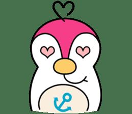 Melt Penguin sticker #120012