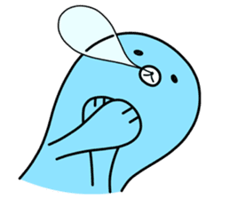 Melt Penguin sticker #120018