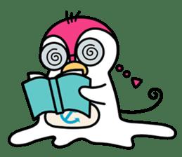 Melt Penguin sticker #120019