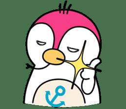 Melt Penguin sticker #120024