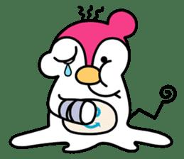 Melt Penguin sticker #120025