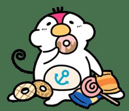Melt Penguin sticker #120029