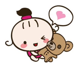 Baby Faery Cheese-chan sticker #120336