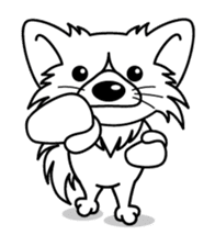 """The little Rascal """"Hime"""" sticker #120374"""