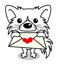 """The little Rascal """"Hime"""" sticker #120387"""