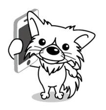 """The little Rascal """"Hime"""" sticker #120390"""
