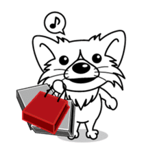 """The little Rascal """"Hime"""" sticker #120394"""
