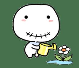 Vodou doll sticker #120463