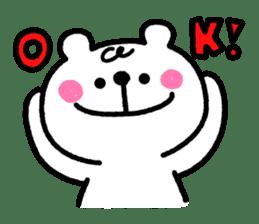 Shirokuma-Pentan sticker #120845