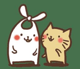 usagi&nekosuke sticker #121757