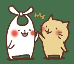 usagi&nekosuke sticker #121764