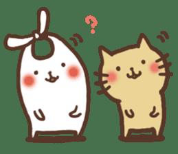 usagi&nekosuke sticker #121768